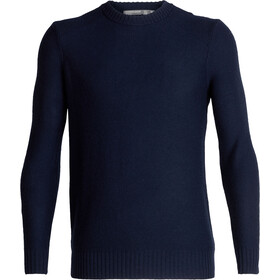 Icebreaker Waypoint Crewe Sweater Men midnight navy